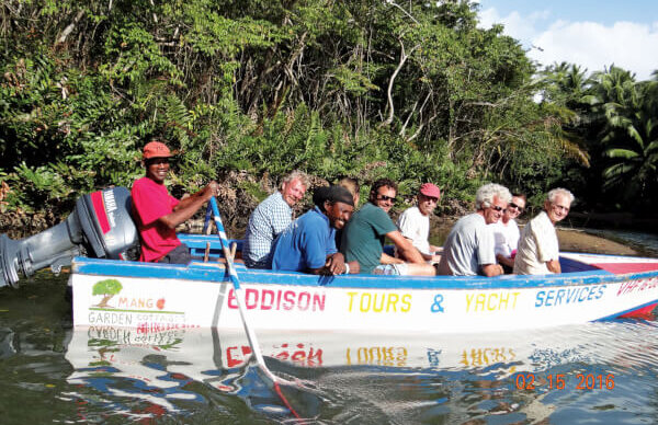 Indian River Tour in Dominica with Salty Dawg Group