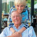 Steve and Doris Colgate in the BVI