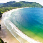Las Cuevas Bay on north shore, 1 hr by car from Chaguaramas