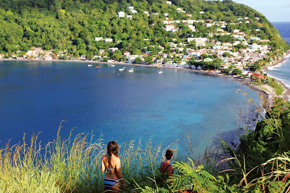 Community of Scotts-Head in Dominica. Photo: Discover Dominica Authority
