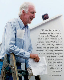 Quote from Dick Newick