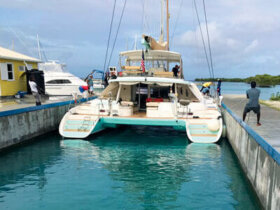 Tyrell Bay Marina in Carriacou
