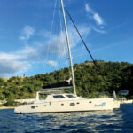 Virgin Yacht Charters - Destiny on Cooper Island Mooring