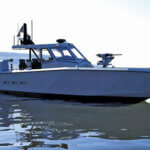 One of Metal Shark's latest builds is the 52 Fearless Super Interceptor, an ultra-high-performance, military-style, go-fast patrol vessel.