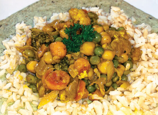 Recipe for Vegetarian Curry