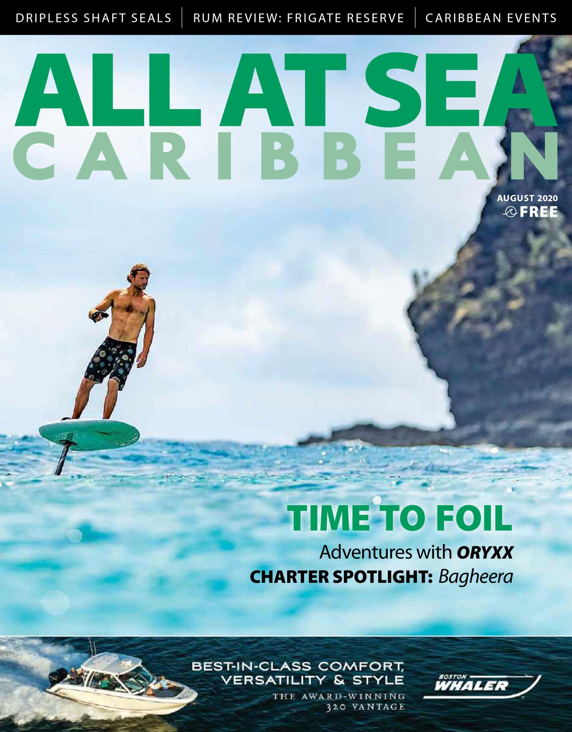 All At Sea - Caribbean - August 2020