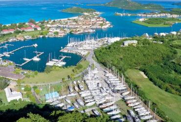 Jolly Harbour Boatyard & Marina for boat repair in Antigua.