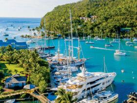 Marigot Bay Marina St Lucia