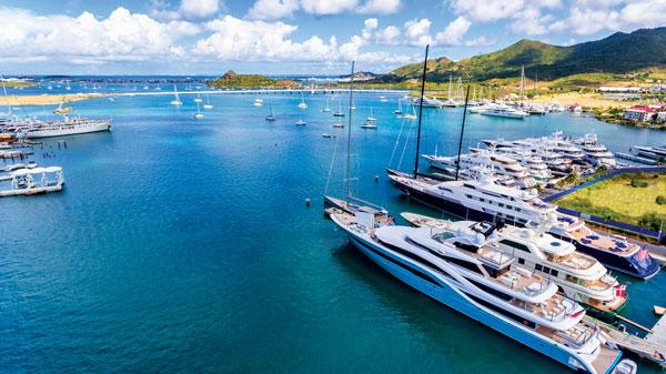 Simpson Bay, St. Martin-St. Maarten's hurricane hole