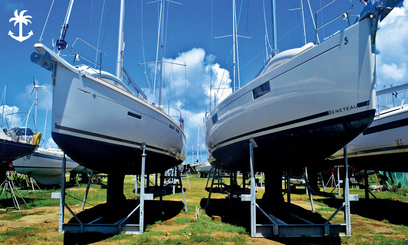 Virgin Gorda Yacht Harbour for boat repair in the BVI