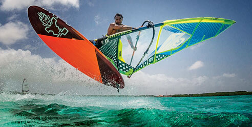 Bonaire windsurfing. Courtesy Tourism Corporation Bonaire