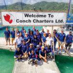 Conch Charter BVI team