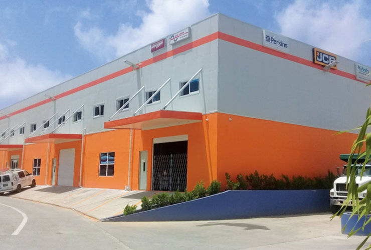 Parts & Power New Building in Fish Bay BVI