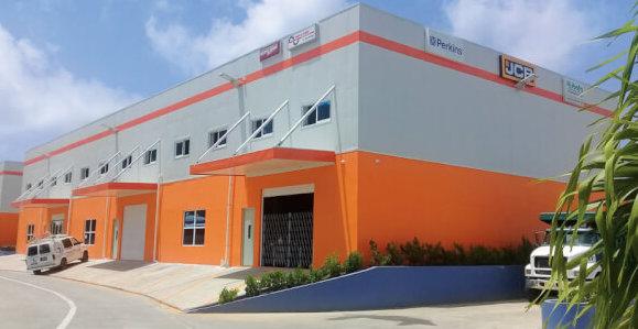 Parts & Power Ltd.'s new showroom