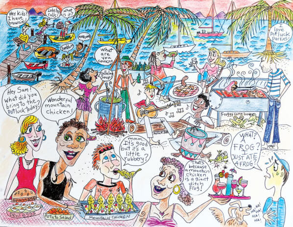 Sixty-five is the normal retirement age – the rest of your life is popularly known as the Golden Years. It's that time when you are supposed to realize your life long dreams. It could be sailing the Eastern Caribbean. Graphics by Anouk Sylvestre