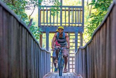 Grenada biking in Levera National Park