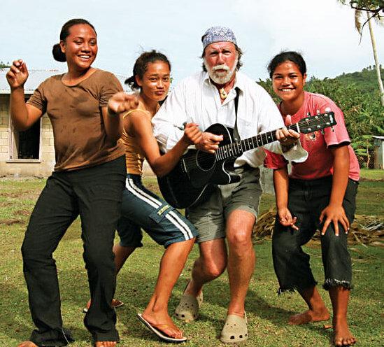 My Tonga back up singers