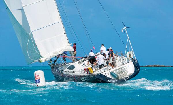 Jolly Harbour Regatta. Credit Henry Trembecki
