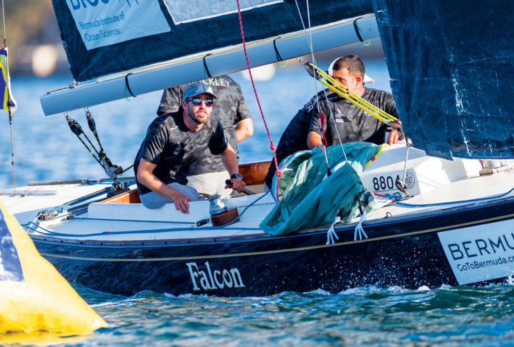 Taylor Canfield and his Stars+Stripes team win 70th Bermuda Gold Cup and 2020 Open Match Racing World Championships - Hamilton, Bermuda. Credit Ian Roman