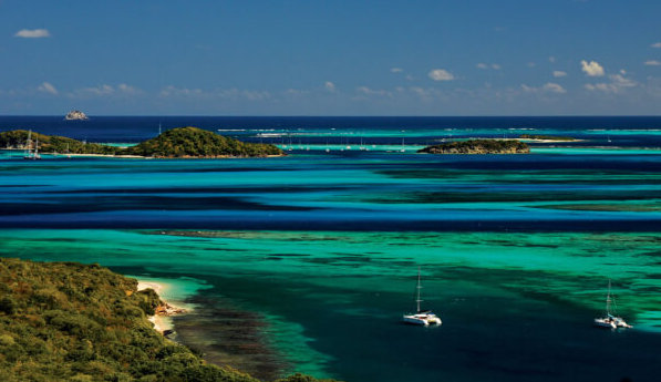 Tobago Cays. Photo Credit-SVG Tourism Authority
