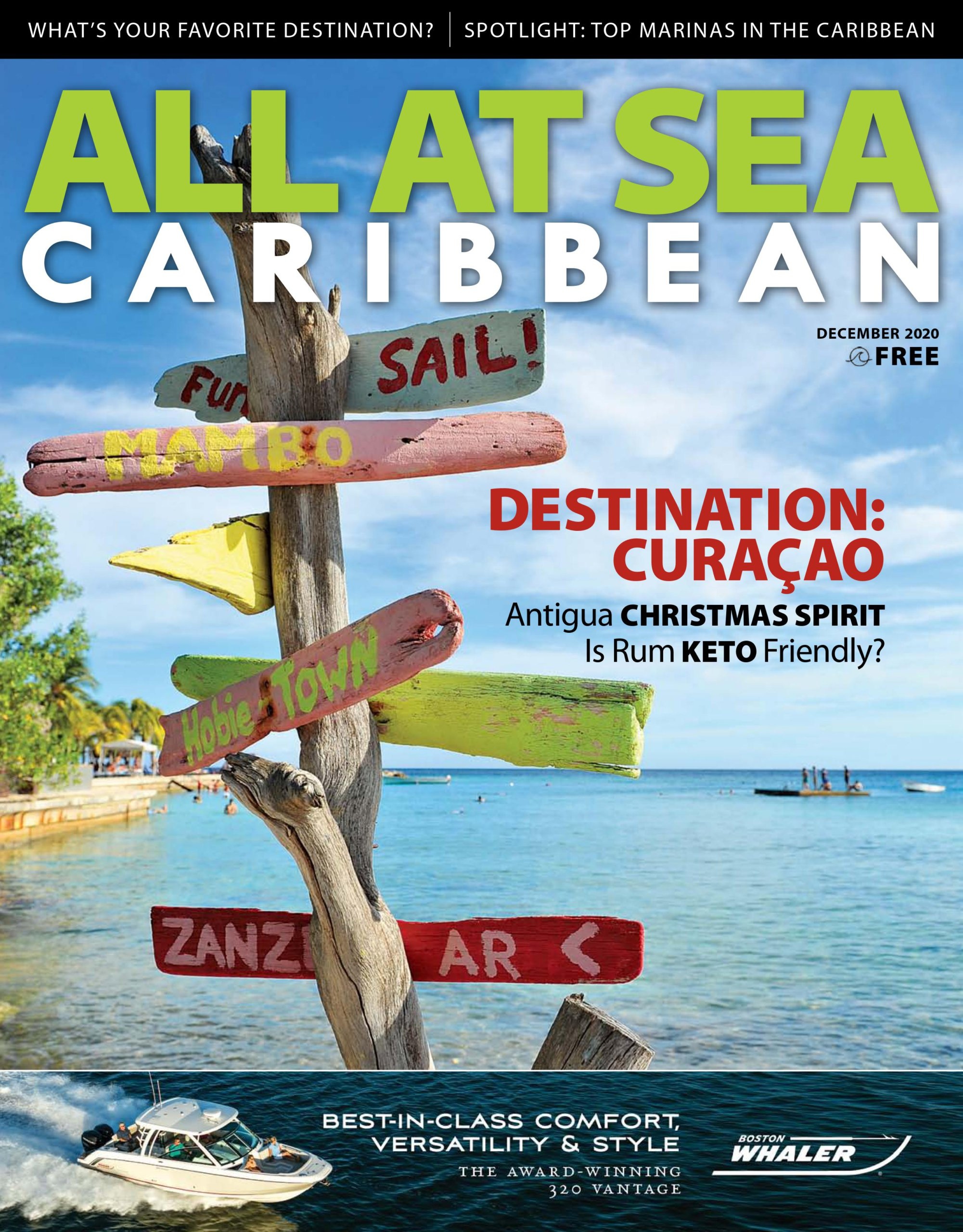 All At Sea - Caribbean - December 2020