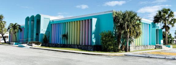 Bradford Marine Bahamas Donation - this is the Sir Charles Hayward Library
