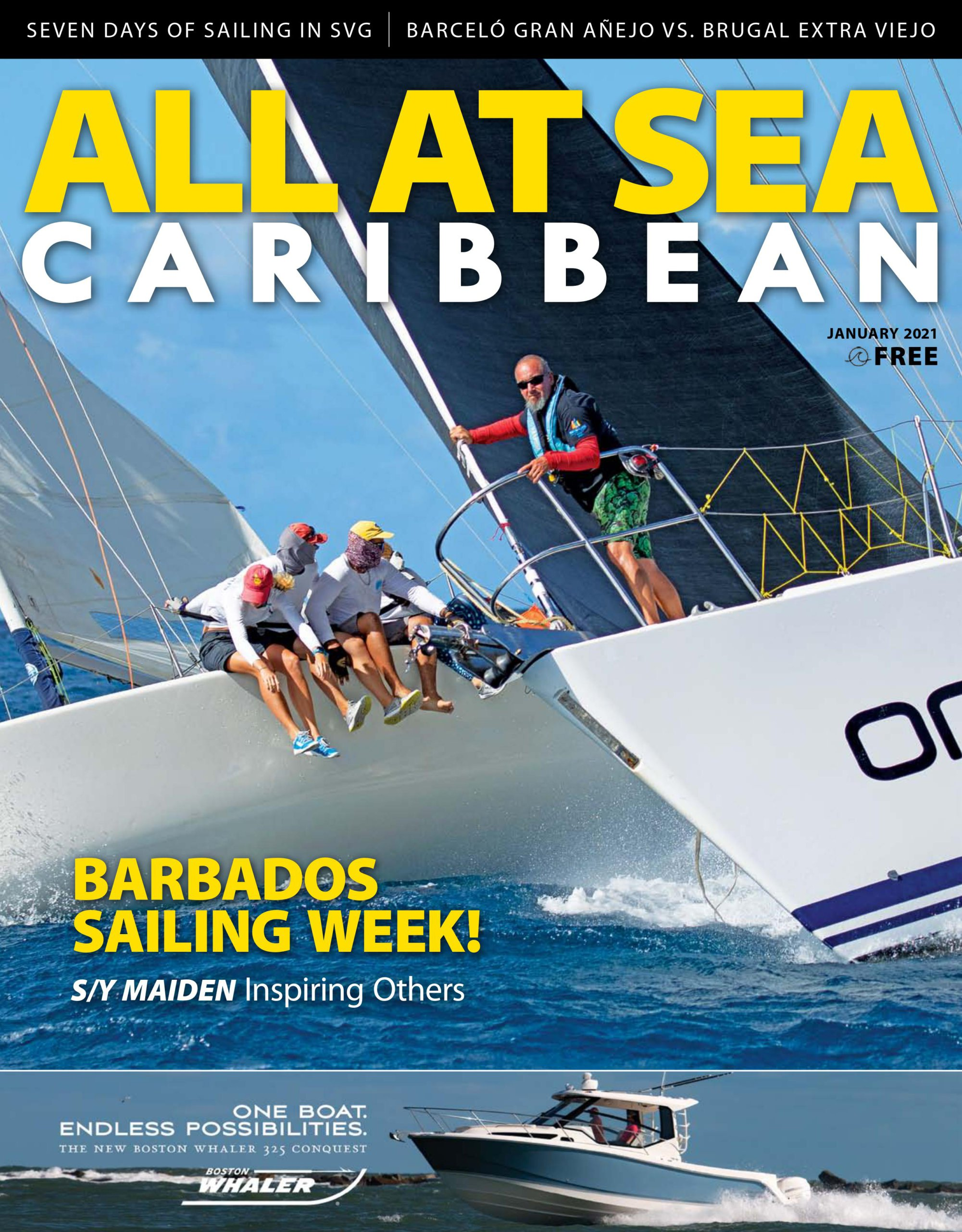All At Sea - Caribbean - January 2021