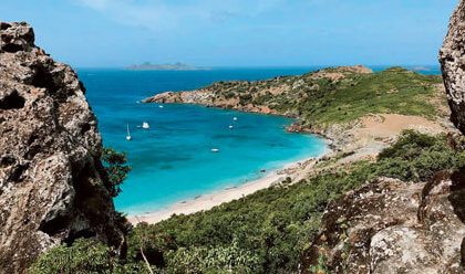 Colombier Bay Beach, St. Barths