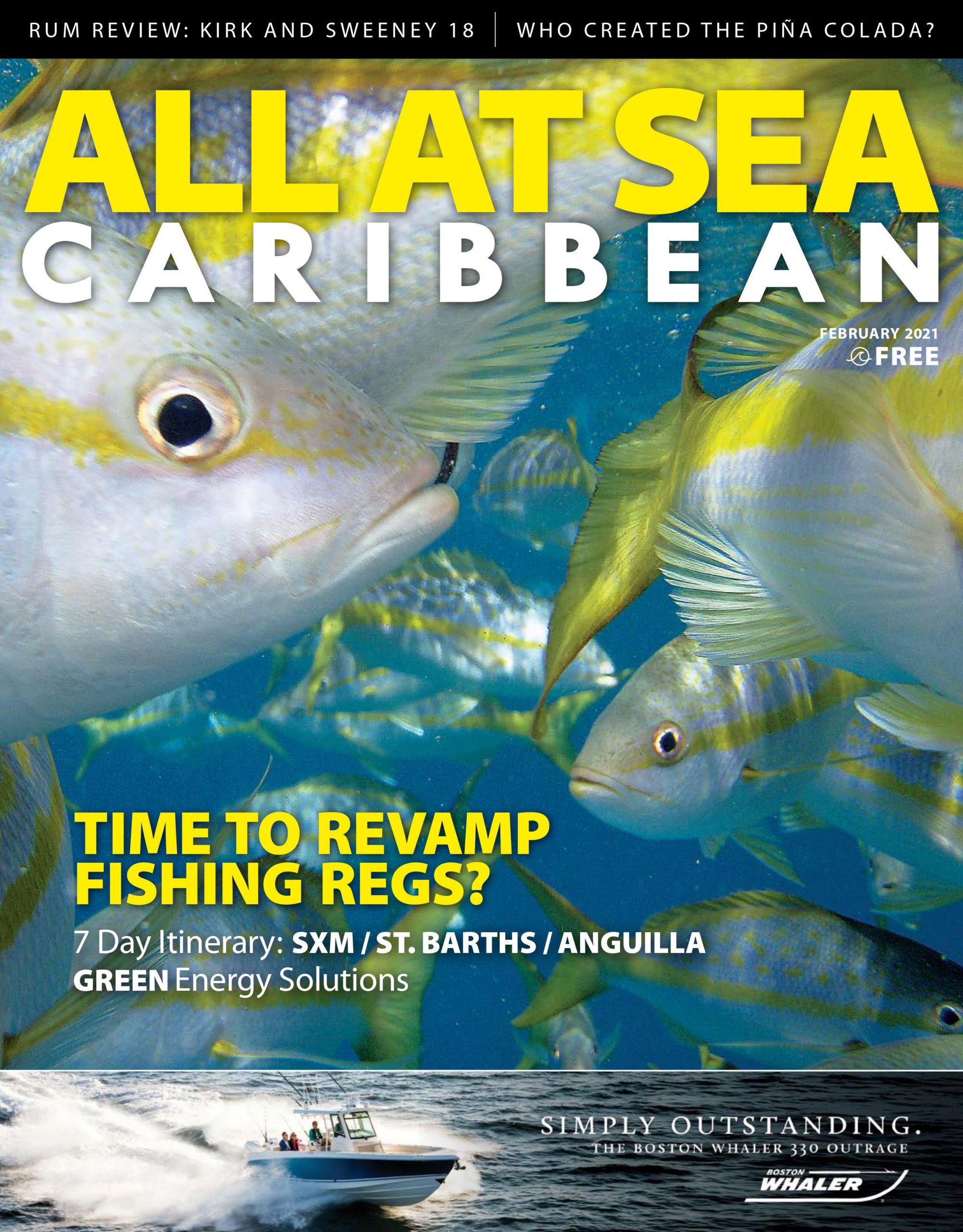All At Sea - Caribbean - February 2021