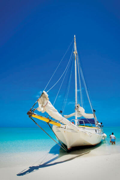 Turks and Caicos sailing. Credit Turks and Caicos Islands Tourist Board