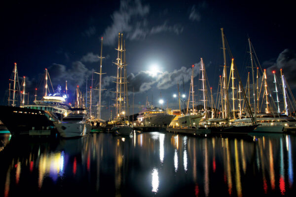 Antigua yachts docked. Credit Antigua and Barbuda Tourism Authority