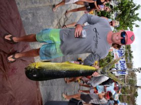 In 2019, St. Thomas' David Browne earned Top Angler with a 29.87-pound catch. Credit: Dean Barnes