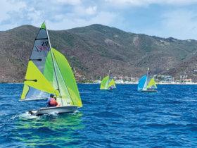 BVI Dinghy Championships, Tortola, BVI. Courtesy RBVIYC