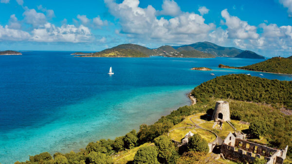 Leinster Bay St John. Photo courtesy of Dream Yacht Charter