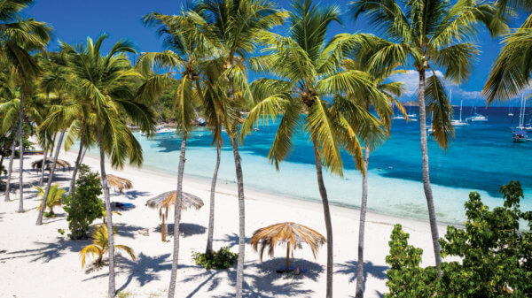 Honeymoon Beach, Water Island. Photo courtesy of The Moorings