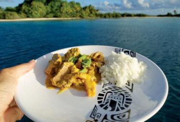 Breadfruit tuna Thai curry. Photo by Birgit Hackl and Christian Feldbauer