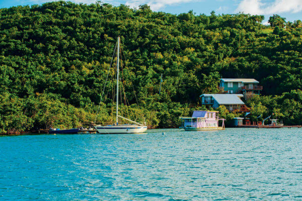 On the Water in Culebra. Credit Discover Puerto Rico