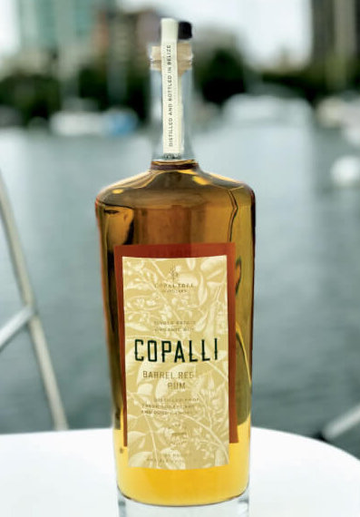 Copalli Barrel Rested Rum from Belize not only uses sugarcane juice and canopy water from the rain forest but also employs production, helping to leave the world in a better place. Drink rum, save the planet.