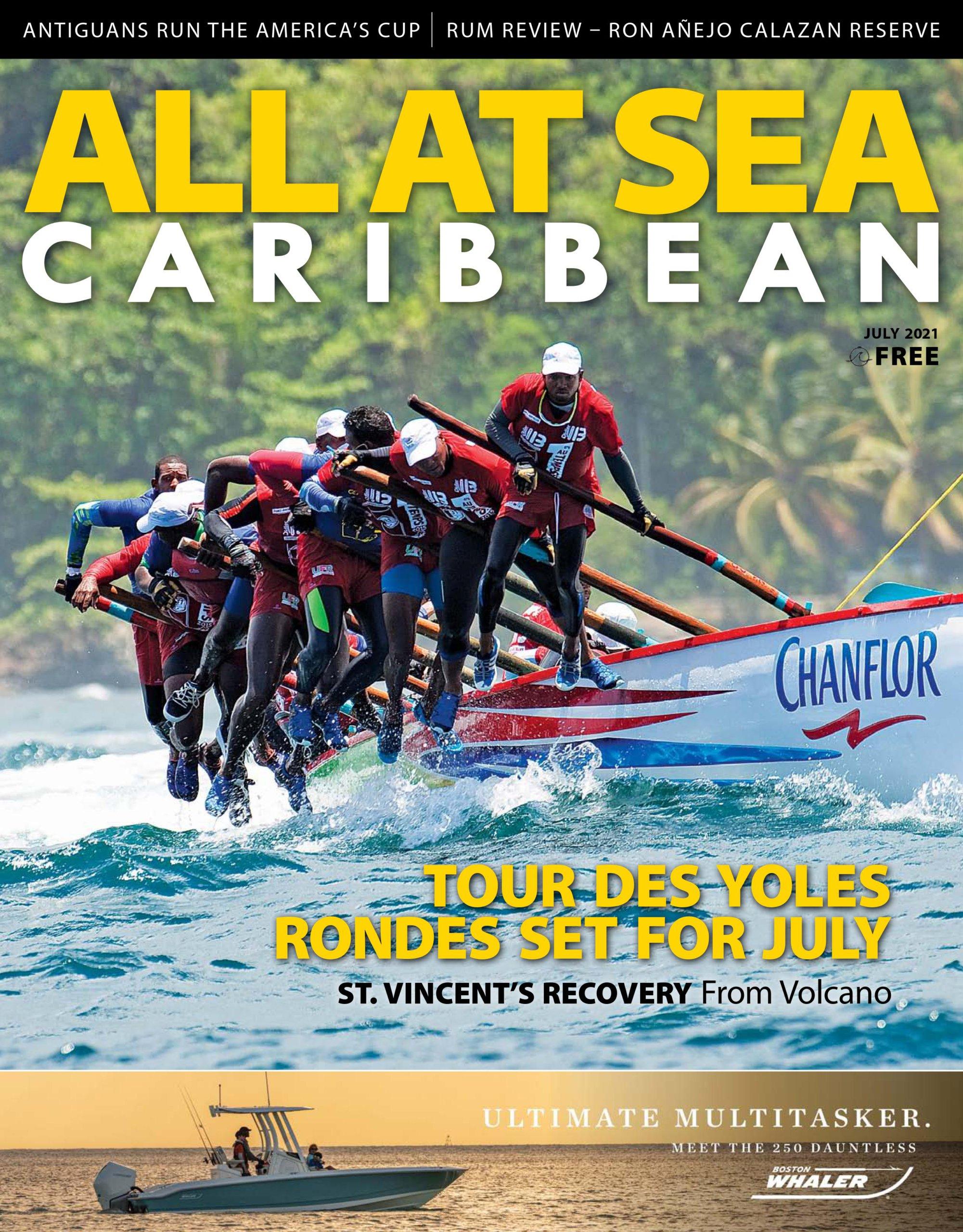 All At Sea - Caribbean - July 2021