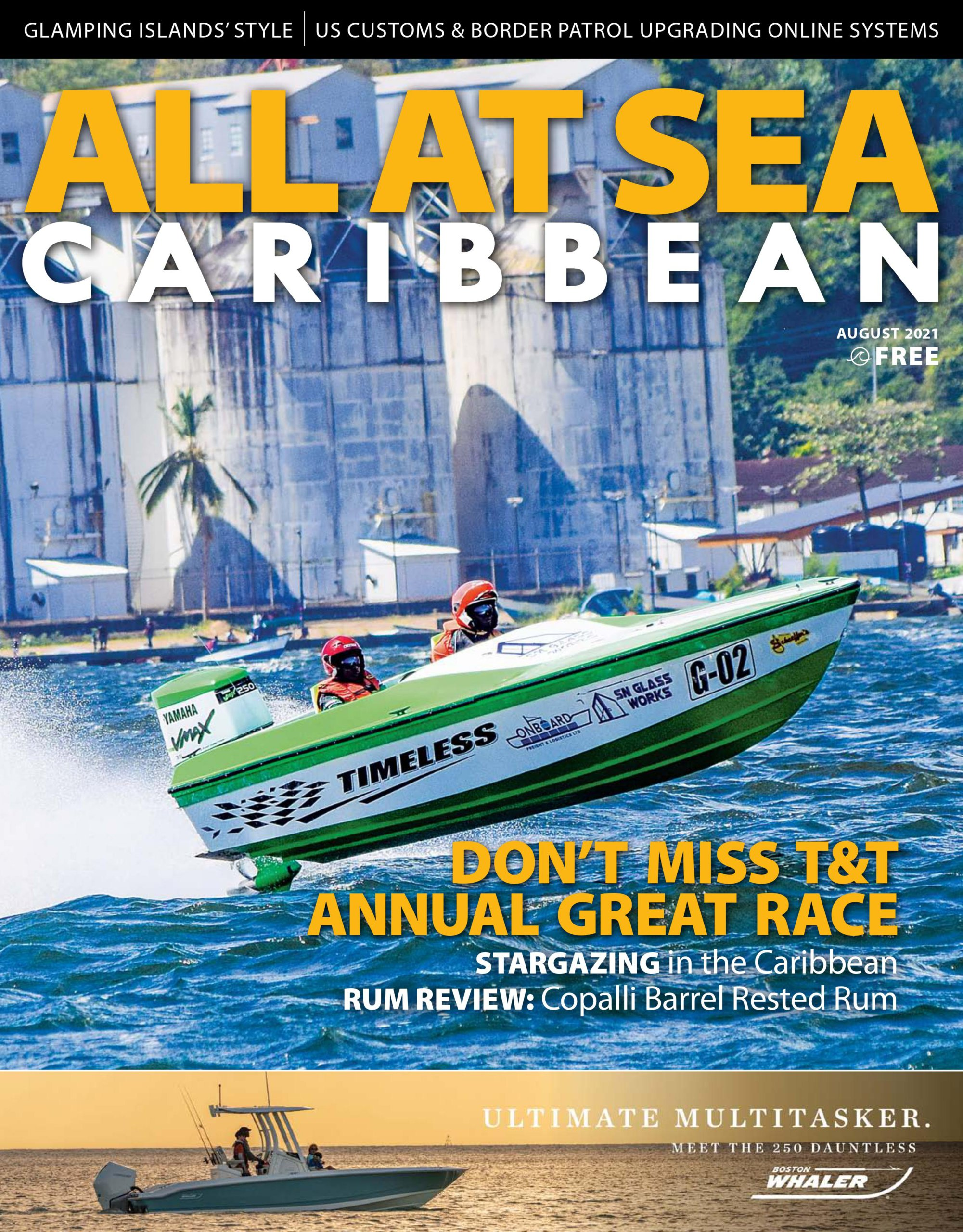 All At Sea - Caribbean - August 2021