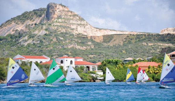 Curacao Sunfish Sailing. Courtesy Jürgen Schneider