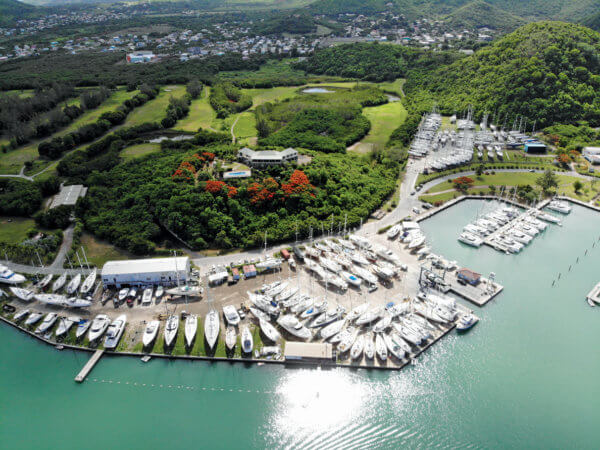 Jolly Harbour Marina and Boatyard
