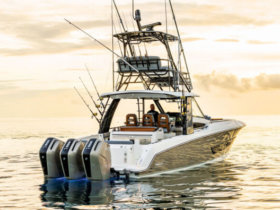 Boston Whaler's 420 Outrage Anniversary Edition