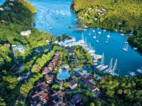 Marigot Bay Marina. Courtesy US Marina Group
